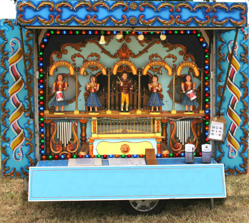 Hire a Fairground Organ