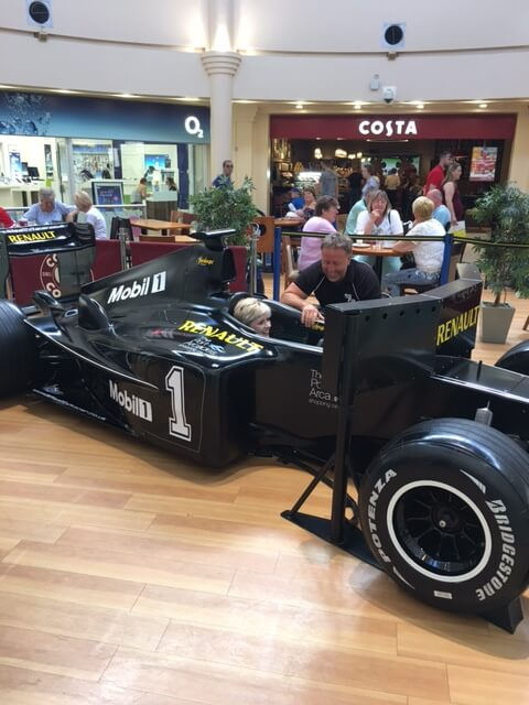Hire an F1 Replica