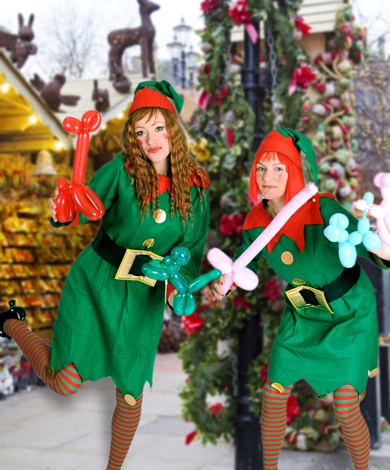 Balloon Modelling Elves