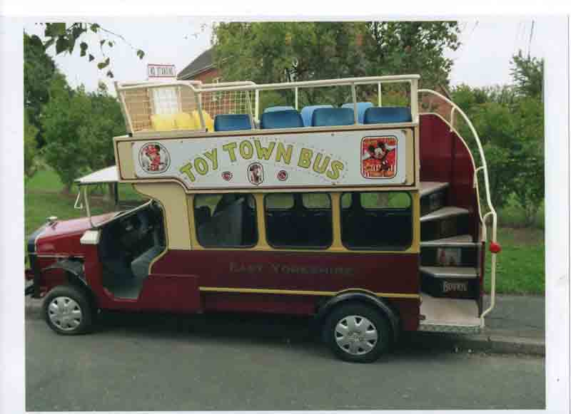 Toy Town Bus