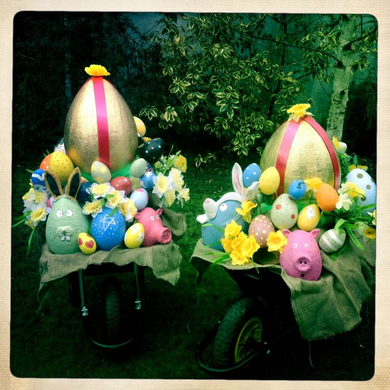 The Musical Egg Barrow!