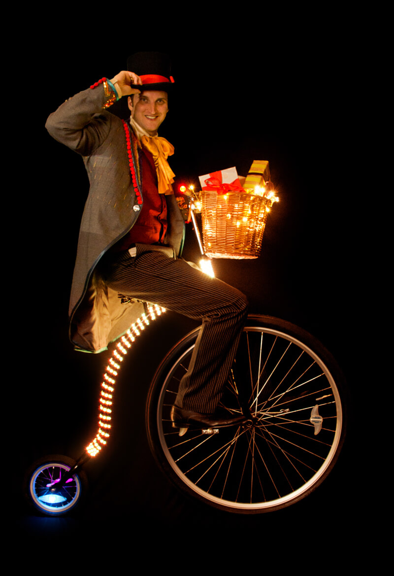 Penny Farthing of Light