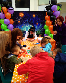 Halloween Pumpkin workshops